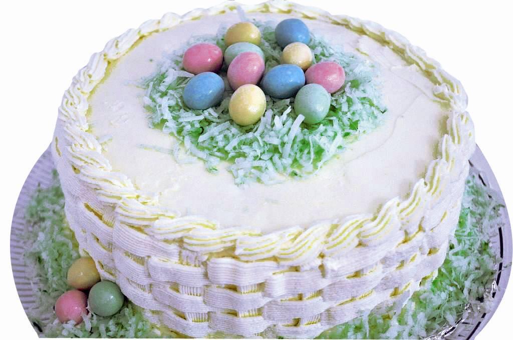 Резултат слика за vesela uskršnja torta